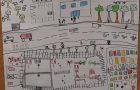 Projekt Varno v vrtec in šolo v oddelku podaljšanega bivanja 1. a razreda